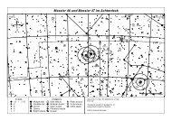 Aufsuchkarte Messier 46 & Messier 47