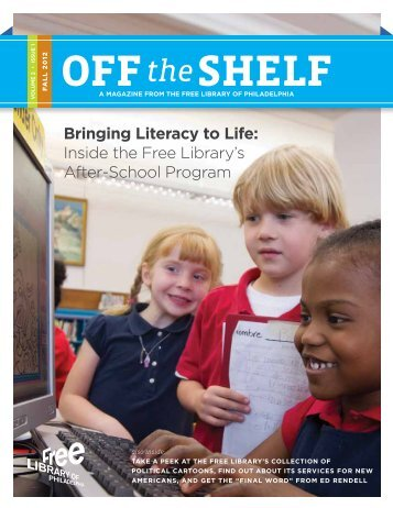 Off the Shelf - Fall 2012 - Free Library of Philadelphia
