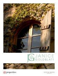 Janice Goldblatt and @properties marketing program