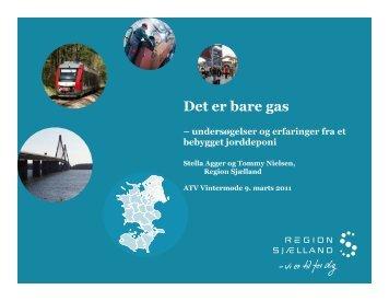 Det er bare gas - ATV - Jord og Grundvand