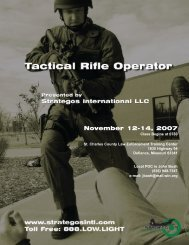 Rifle Instructor Flyer-Sept 2006.qxd - Strategos International