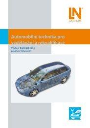 Automobilní technika pro vzdělávání a rekvalifikace - Lucas-Nülle