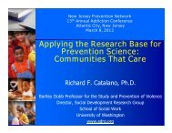 Communities That Care - Social Development Research Group