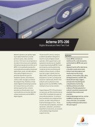 Acterna DTS-200 - Protel