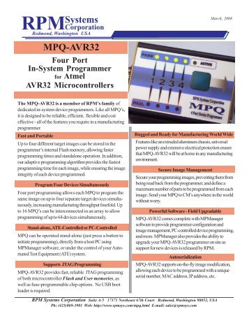 RPMSystems MPQ-AVR32 - Indes.com