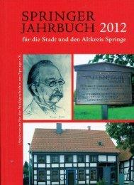 Springer Jahrbuch 2012 Inhalt.pdf - Hege-elze.de