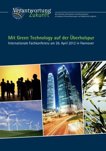 Mit Green Technology auf der Ãœberholspur - Verantwortung Zukunft ...