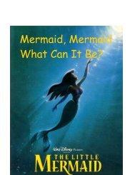 Mermaid, Mermaid What Can It Be? - Mypreschoolcorner