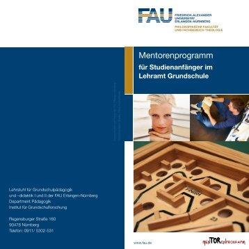 Mentorenprogramm - Institut für Grundschulforschung