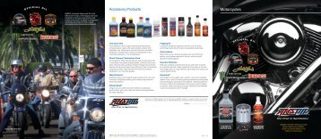 G391 - AMSOIL Motorcycle Products Brochure - OilTek Solutions