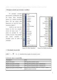1 3 Principais comandos para desenhar e modificar Os ... - Wiki