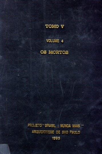 Tomo V, Volume 4 - Os Mortos - DHnet