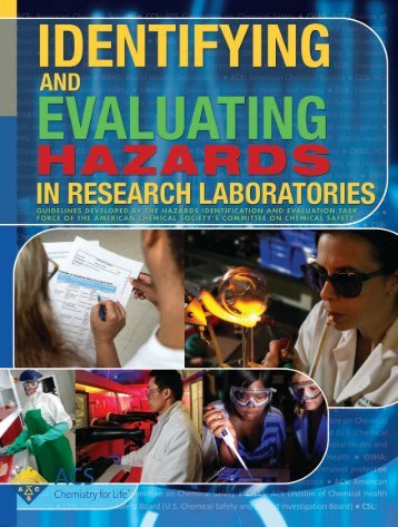 Identifying and Evaluating Hazards in Research Laboratories
