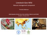 Livestock-Geo-Wiki - Global Agenda of Action for Sustainable ...