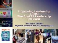 Improving Leadership Skills - NASA