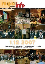 FRANKI info Nr. 13 / Dezember 2007 ... - VIT GmbH