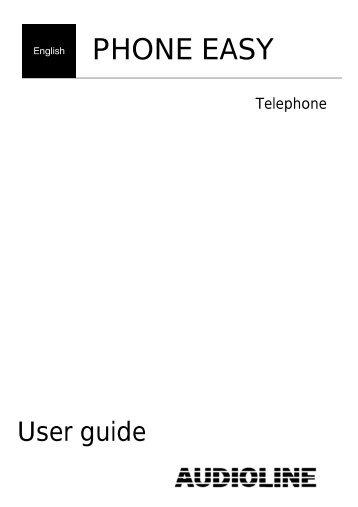 audioline phone easy - Future Senior
