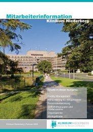 Mitarbeiterinformation - Klinikum Niederberg