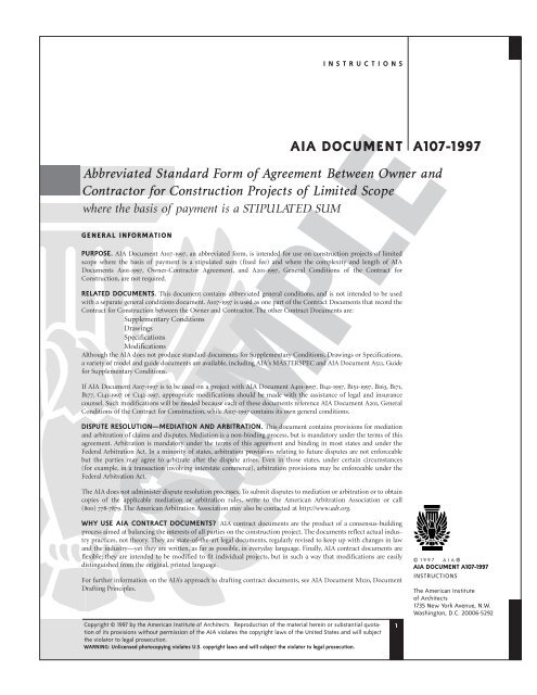 Abbreviated Standard Form Of Agreement Between Owner And Wvnet