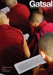 Boletim Informativo do nunnery de Dongyu Gatsal Ling - The Official ...