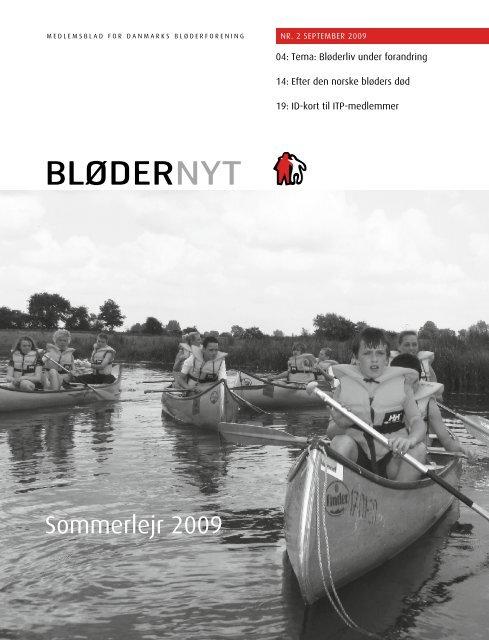 BløderNyt, september 2009 - Danmarks Bløderforening.