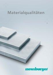 Materialqualitäten
