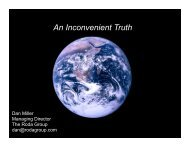 A Really Inconvenient Truth (Dan Miller 3-10).key - Climate Place
