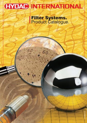 Filter Systems. Product Catalogue. - Lube Control