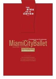 6 au 23 juillet 2011 - les etes de la danse