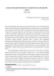 nicola rosti - il pensare alla soglia dell'eterico.pdf - Libera Conoscenza