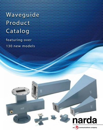Narda Announces Expanded Waveguide Product Line