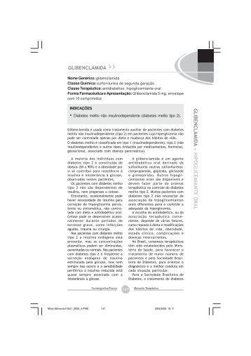 Glibenclamida - Farmanguinhos - Fiocruz