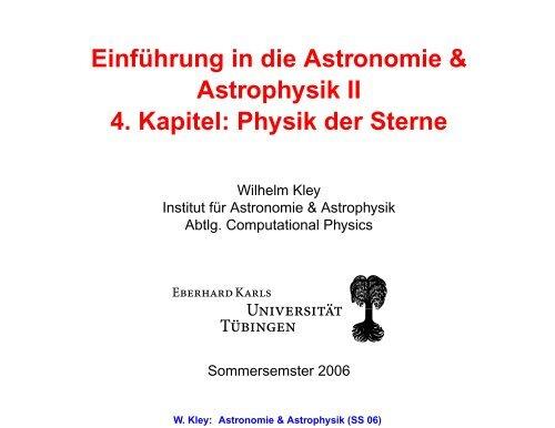 einfhrung in astronomie und astrophysik