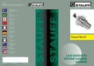 Pressure Filters SF - Royal Hydraulics
