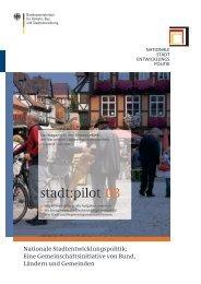 stadt:pilot 03 - Nationale Stadtentwicklungspolitik