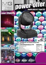Outdoor Laser Effekte Quadlock 6082