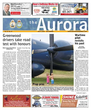 July 2 2012 - The Aurora Newspaper