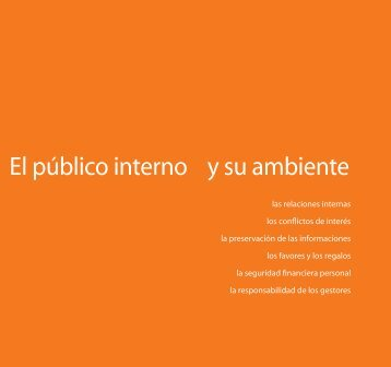 El público interno y su ambiente