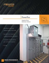 PowerPlus Sales Sheet - Hillphoenix