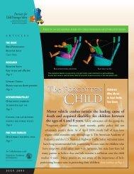 Partners for Child Passenger Safety - The Children's Hospital of ...