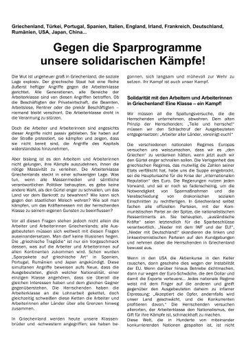 Das Flugblatt als PDF herunterladen - Internationale ...