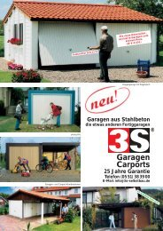 Garagen Carports - My Home is My Castle