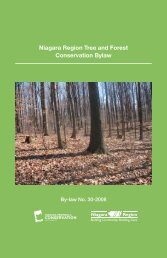 Niagara Region Tree and Forest Conservation Bylaw Booklet