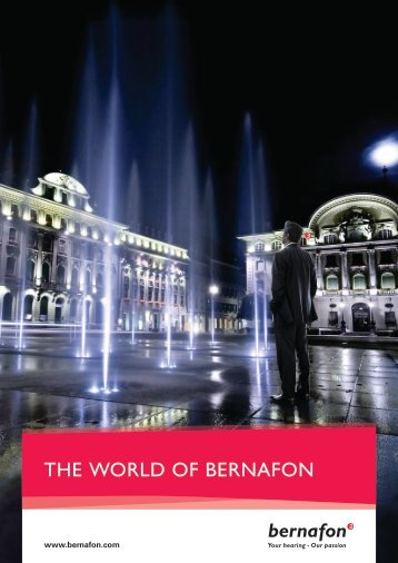 Company brochure - Bernafon.hr