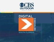 South Florida Digital Media Kit - CBS Outdoor