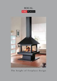 Rocal Fireplaces - Brochures
