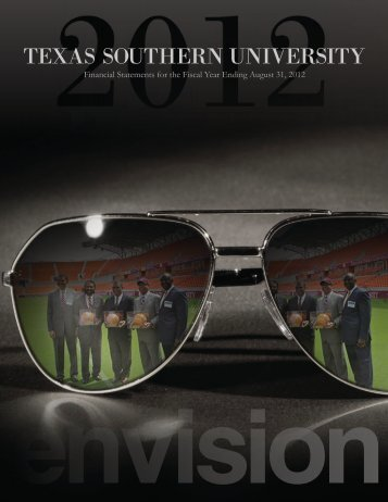 2012 Annual Financial Report - Texas Southern University