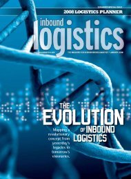 January 2008 - Inbound Logistics