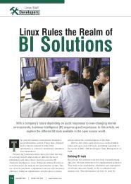 Linux Rules the Realm of - Tetra Information Services Pvt. Ltd