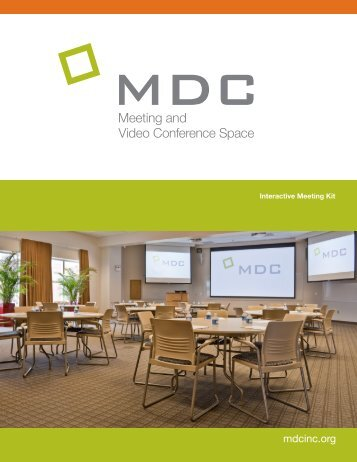 MDC Meeting Space Brochure